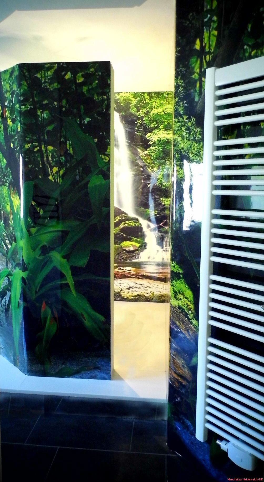 Fugenlose Dusche Putz : Duschrueckwand Bad,Fugenlose Duschewand,GfK Duschrueckwaende